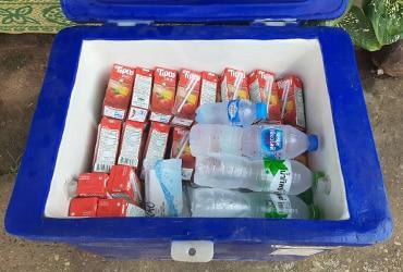 บริการน้ำดื่มตลอดการเดินทาง